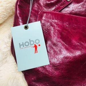 HOBO Bags - NWT Medium-sized Burgundy Hobo Handbag
